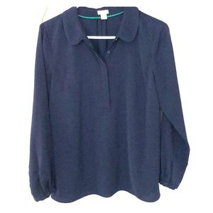 JCrew long sleeve blouse